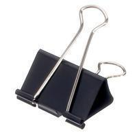 maul Papierklem  215 Foldback 32mm capaciteit 13mm zwart