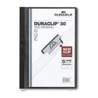 Durable Klemmap  2200 A4 3mm antraciet/grijs