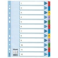 Esselte Mylar Indices & Dividers