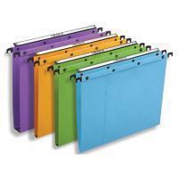 Elba Hangmap Ultimate® PP Verticaal. A4. 30 mm bodem. zwart (doos 10 stuks)