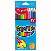 Maped kleurpotlood Color'Peps 12 potloden