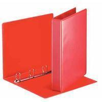 Esselte Presentatieringband  A4 4-rings D-mech 30mm rood