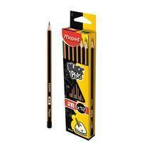 Maped potlood Black'Peps 2B, zonder gum