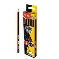 Maped potlood Black'Peps B, zonder gum