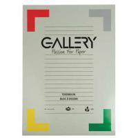 Gallery tekenblok, extra zwaar houtvrij papier, 190 g/m², ft 29,7 x 42 cm (A3), blok van 20 vel