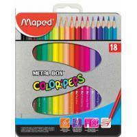 Maped Kleurpotlood  driehoekig color'peps 18 potloden