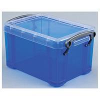 Reallyusefulboxes Really Useful Box 1,6 liter, transparant blauw
