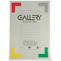 Gallery tekenblok, houtvrij papier, 120 g/m²,ft 29,7 x 42 cm (A3), blok van 24 vel