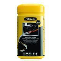 Fellowes 100 Oppervlakte reinigingsdoekjes ( dispenser ) (9971509)