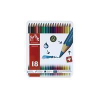 Caran d`Ache Kleurpotloden  Fancolor 18stuks assorti