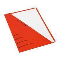 Jalema Driehoekmap Secolor Rood (pak 100 stuks)