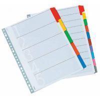 Class'ex tabbladen set 1-12, 23-gaatsperforatie, karton