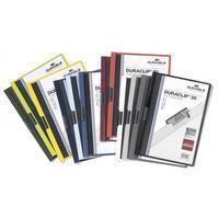 Durable Klemmap  2200 A4 3mm assorti