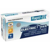 Rapid Nieten voor electrische nietmachines 44/6 verzinkt (pak 5000 stuks)