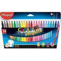 Maped Viltstift  Color'peps in karton ophangdoos 24stuks ass,