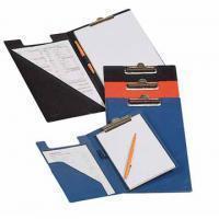 Elba Klembordmap Bantex met klem +penlus donkerblauw