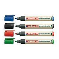 Edding Permanent marker 21 EcoLine blauw (doos 10 stuks)