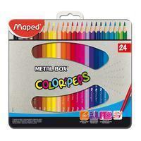 Maped Kleurpotlood  driehoekig color'peps 24 potloden