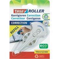 TESA Correctierollervulling  ecoLogo 4.2mmx14m eco op blister