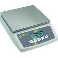 Kern FCB 24K2 Tafelweegschaal Weegbereik (max.) 24 kg Resolutie 2 g Werkt op het lichtnet, Werkt op batterijen, Werkt op een accu Zilver