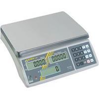 Kern CXB 3K0.2 Telweegschaal Weegbereik (max.) 3 kg Resolutie 0.2 g Werkt op het lichtnet, Werkt op een accu Zilver
