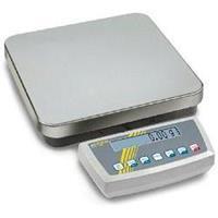 Kern DS 10K0.1S Platformweegschaal Weegbereik (max.) 10 kg Resolutie 0.1 g Werkt op het lichtnet, Werkt op een accu Zilver