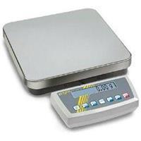 Kern DS 20K0.1 Platformweegschaal Weegbereik (max.) 20 kg Resolutie 0.1 g Werkt op het lichtnet, Werkt op een accu Zilver