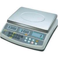 Kern CFS 6K0.1 Telweegschaal Weegbereik (max.) 6 kg Resolutie 0.1 g Werkt op het lichtnet, Werkt op een accu Zilver