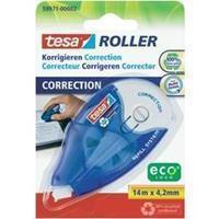 TESA Correctieroller  ecoLogo 4.2mmx14m eco navulbaar op blister