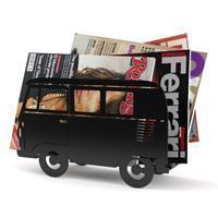 Balvi Busje tijdschriftenrek - Zwart
