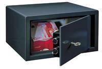 Rottnertresor Meubelkluis - Privekluis LE 17 met sleutelslot - Antraciet