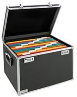 Secure Storage 40 hangmappenkoffer 40 hangmappen (A4). zwart