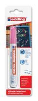 Krijtstift  4095 rond neon roze 2-3mm blister