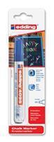 Krijtstift  4095 rond blauw 2-3mm blister