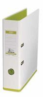Elba ordner MyColour ft A4, rug van 8 cm, wit/lichtgroen