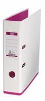 Elba ordner MyColour ft A4, rug van 8 cm, wit/roze