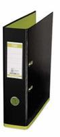 Elba ordner MyColour ft A4, rug van 8 cm, zwart/lichtgroen