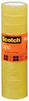 3M Scotch plakband 508 ft 15 mm x 33 m, pak van 10 rollen