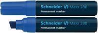 Marker Schneider Maxx 280 permanent blauw