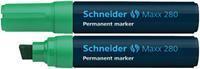 Marker Schneider Maxx 280 permanent groen