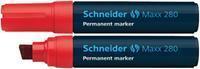 Marker Schneider Maxx 280 permanent rood