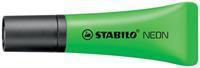 Stabilo Markeerstift Neon groen
