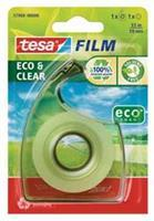 Tesa plakband Eco & Clear ft 19 mm x 33 m, blister met 1 dispenser met 1 rolletje