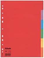 Tabbladen  A4 11R karton 6-delig zonder voorblad