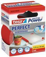 TESA Plakband  textiel 38mmx2.75m rood
