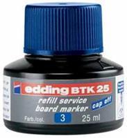 Edding Viltstiftinkt  BTK25 voor whiteboard blauw