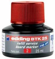 Edding Viltstiftinkt  BTK25 voor whiteboard rood