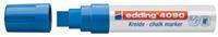 Edding Krijtmarker  e-4090 blauw