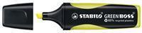 Stabilo Tekstmarker GREEN BOSS 2 - 5 mm. geel (doos 10 stuks)