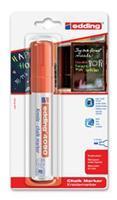 Edding Viltstift  4090 window schuin rood 4-15mm op blister